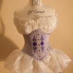 Lavender Underbust Corset
